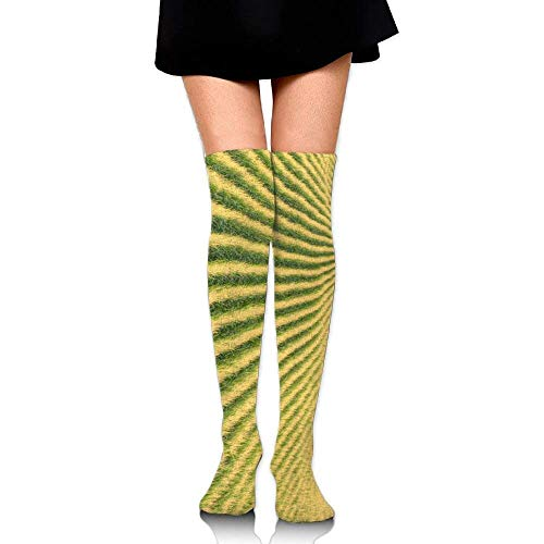 Gped Kniestrümpfe,Socken,Whole Piece Farm Wonders Casual Crew Top Socks,Tube Over Knee Nursing Compression Long Socks,3D Printed Sports For Girls&Women 50 - Kind Wonder Woman Kostüm Muster