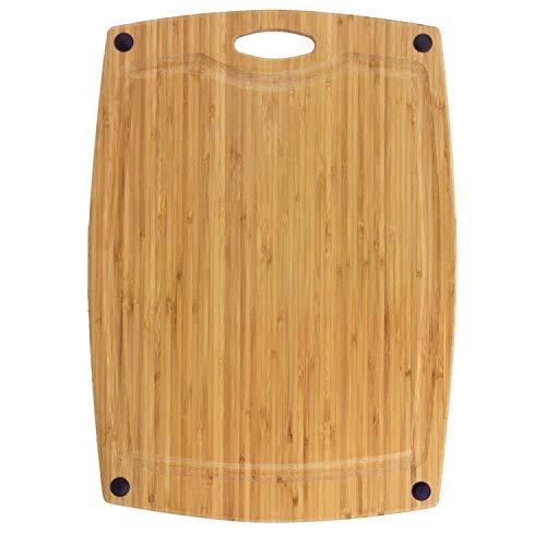 Unbekannt Totally Bamboo ba202266Schneidbrett Greenlite mit Saftrille, Bambus, Holz, 46x 33x 0,94cm (Bamboo Totally Schneidebrett)
