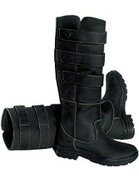 Rhinegold Country Boots Elite Colorado Bota 8-(42)-Negro, Unisex Adulto, Size 8 (EU42)