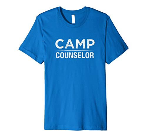 Funny Camp Ratgeber T-Shirt Distressed Design