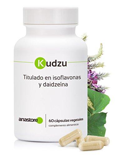 KUDZU * Titré à 40% en isoflavones et à 12% en daidzéine * 100 mg / 60 gélules * 100% Satisfait ou Remboursé * Fabriqué en FRANCE