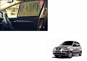 Speedwav Car Never Fall Sunshade Set of 4-Hyundai Santro Xing