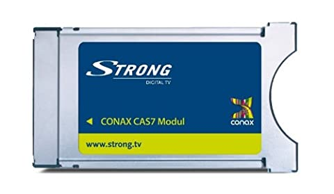 Strong CAS7 Conax CI Receiver Module with Conax decryption for reception via satellite and