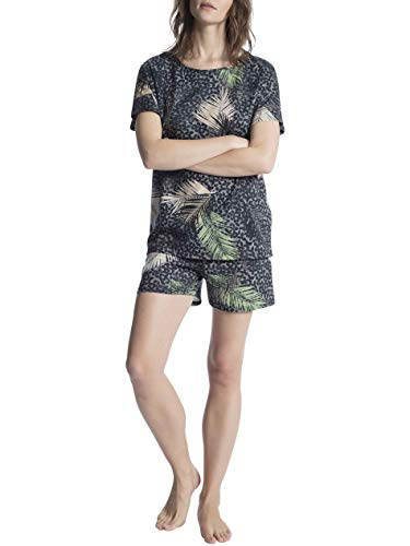Calida Cosy Cotton Shore Kurz-Pyjama Damen -