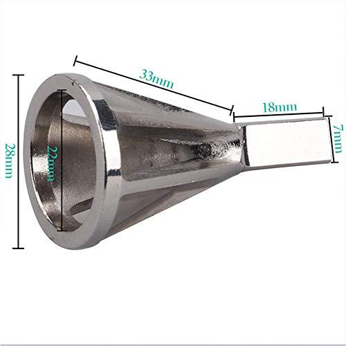 Desbrozadora cuchilla de biselado exterior Herramienta de rectificado para biselado Herramienta de taladro eléctrico