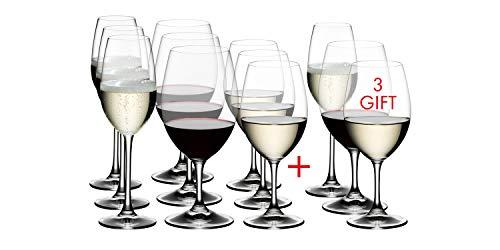 Riedel Ouverture Weißwein / Magnum / Champagner Glas - Vorteilsset Kauf 12 Zahl 9 -