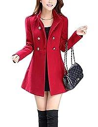 official photos 391ad b5f75 Amazon.it: cappotto rosso donna - XS / Donna: Abbigliamento
