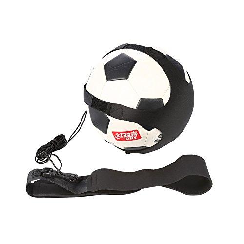 Tbest Fußball Trainer Football Kick Trainer Soccer Trainer Gürtel, Fußball-Trainingsgürtel Fußball Training Adjustable Waist Belt für Kinder Anfängers (Fußball-gürtel)
