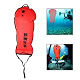 Scuba Safety Lift Bag Scuba Diving Lift Bag Ablassventil Pumpen Tauchzubehör(125 LBS)
