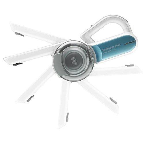 Black+Decker PV 1020 L   Recogetodo ciclónico  10.8 V  color blanco y azul