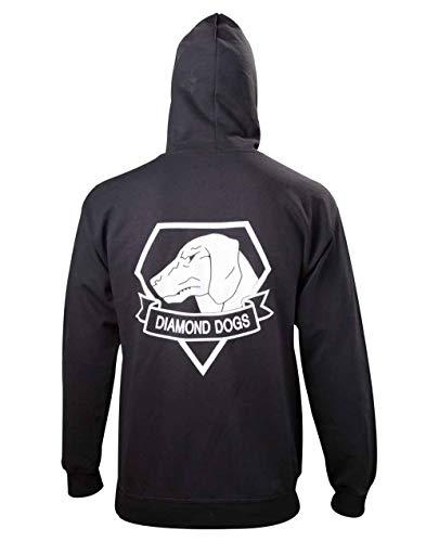 Metal Gear - Black Diamond Dogs Zipper Hoodie - XL -