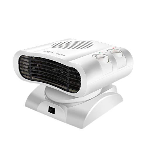 Kongqiabona Kopfschüttelklimaanlage Mini Heizung und Kühlung Kompaktes Zuhause Elektrischer Schreibtisch Personal Heater C
