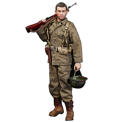 Batop 1/6 Soldat Modell, 12 Zoll US Army Sam Soldaten Spielzeug Figuren Militär Actionfiguren Modell (Did Figuren Action 6 1)