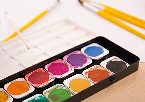 astuccio in cartone da 12 pezzi Matite colorate Colori cancellabili Eberhard Faber 514817