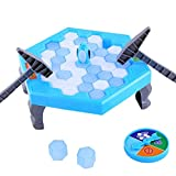 HATCHMATIC Penguin Knock Trap Board Game Ice Breaking Save Kids Early Educational Block