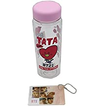 BT21 BTS Bangtan Boys Character Water Bottle (Taka V (Kim Tae Hyung))