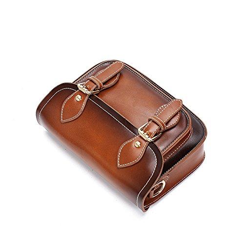 Meoaeo Borsa A Tracolla Borsa Fashion Borsa A Tracolla Nero Light brown