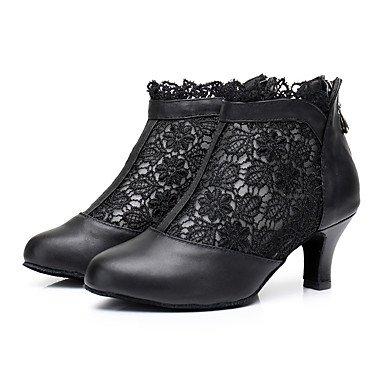 Wuyulunbi@ Donna Lace Sneaker rivestimento formazione tacco basso nero 1,Black,Us7.5 / Eu38 / Uk5.5 / CN38 US9 / EU40 / UK7 / CN41