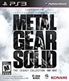 Metal Gear Solid: The Legacy Collection PS3 US