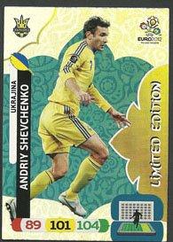 Euro 2012 Adrenalyn XL Andriy Shevchenko Limited Edition segunda mano  Se entrega en toda España