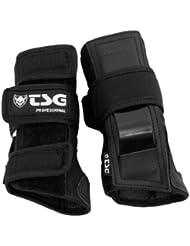 TSG Professional - Protecciónes para monopatín, color negro, talla M