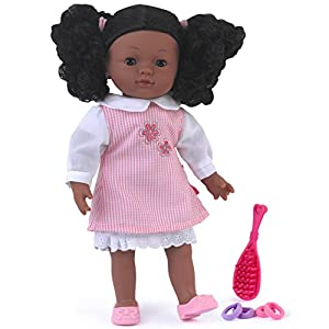 Dolls World Muñecas Mundo 8118Charlotte Negro muñeca