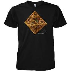 Pirámide Geek 3D Fractal Sierpinski