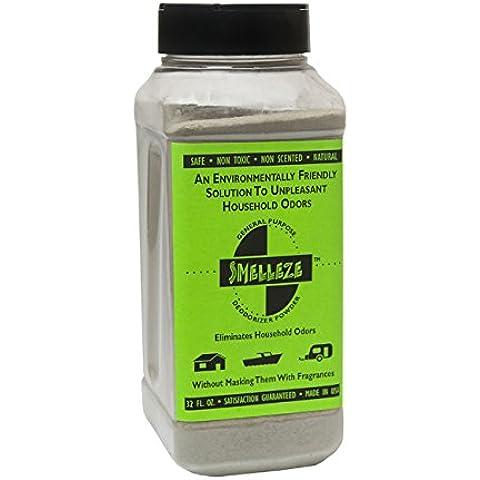 SMELLEZE Eco chimica anti-odori Deodorizer: 2 lb. Granuli Eliminare odore e fumi