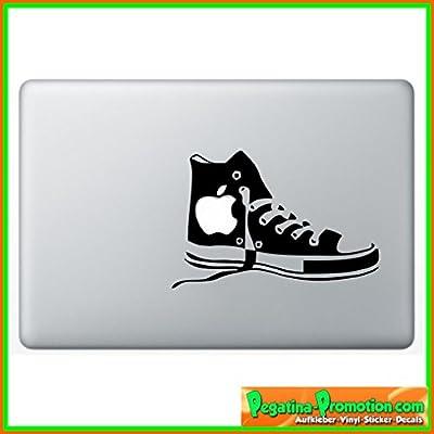 """Hochwertiger """"Sportschuh"""" Aufkleber Sticker für Macbook 60 Farben zur Auswahl Air 11 13, Macbook skin 13, 15, 17 Zoll inch Apple Notebook Aufkleber ohne Hintergrund Tattoo Vinyl PEGATINA Apple Mac Skin"""