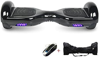 Cool&Fun Hoverboard Patinete Eléctrico Scooter y certificado UL2272 talla 6.5