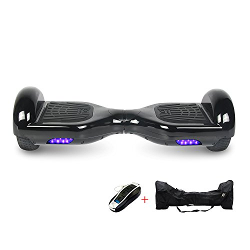 "Cool&Fun Hoverboard Elektro Scooter E-Balance E-Skateboard 6,5"" (Black)"