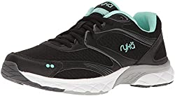 RYKA Womens Propel 3d Pro Walking Shoe, Charcoal/Black, 10 M US