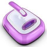 OR&DK Uv-staubsauger Beseitigt milben, Bettwanzen und allergene für matratzen, Kissen und teppiche, Lila