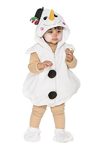 Fyasa 706497-tbb Little Schneemann Fancy Dress Kostüm, Klein (Schneemann Kostüm Kinder)