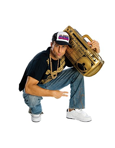 Rubie 's Offizielles aufblasbar Ghetto Blaster 80s 90s Erwachsene (One (S Aufblasbar Kostüm Rubie)
