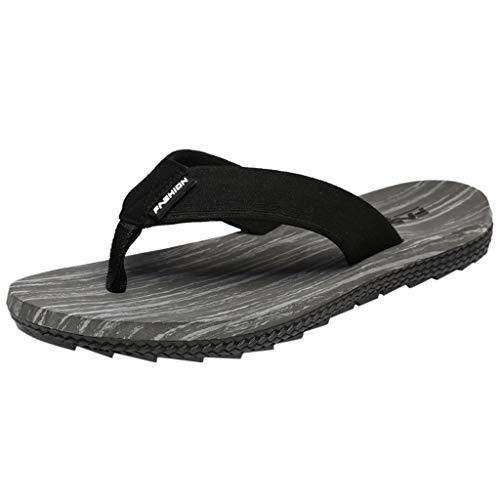 e Herrenmode Herren Sommer Reine Farbe Flip Flops Schuhe Sandalen Herren Slipper Flip-Flops Freizeitschuhe Stiefel Wanderstiefel Combat Hallenschuhe Shoes Laufschuhe Sports ()