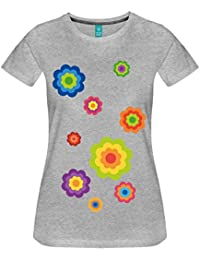 Flower Power Frauen Premium T-Shirt von Spreadshirt®