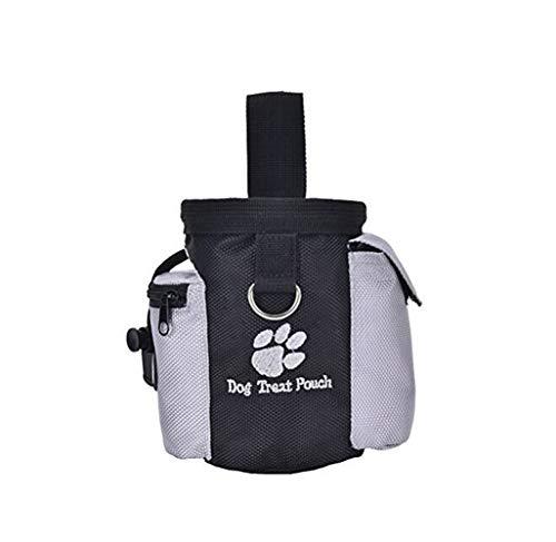 (Haustier Kostüm Hundetrainingstasche Haustiere Snack Taschen Hundetraining Taille Tasche (Schwarz) Haustier Outfit)