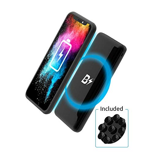 BETTERSHOP TM [Qi-Certified] Power Bank Wireless