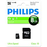Philips FM08MP45B/10 Carte mémoire Micro SD Classe 10 8 Go
