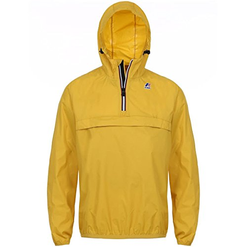 K-Way Herren Regenjacke Yellow Mustard