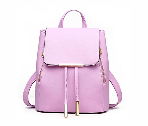 LANFIRE , Damen Rucksackhandtasche Violett