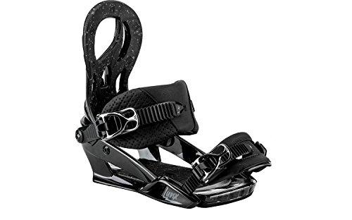 Nitro Snowboards Damen Lynx Bdg.'18 Snowboard Bindung, Black Chrome, S -