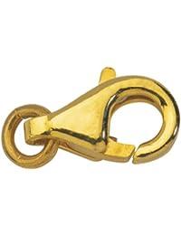 Cierre mosquetón Menotte oro amarillo 18quilates–750/1000Gold