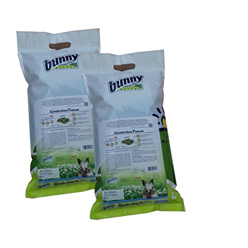 2 x 4 kg Bunny Nature KaninchenTraum Winter outdoor