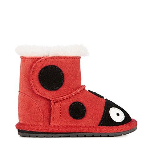 EMU Australia Babies Ladybird Walker Deluxe Wool Boots