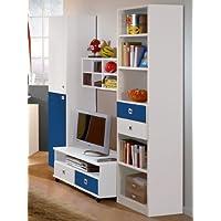 Wimex Kinderzimmer Wohnwand »Daylight« in alpinweiß - Marineblau preisvergleich bei kinderzimmerdekopreise.eu