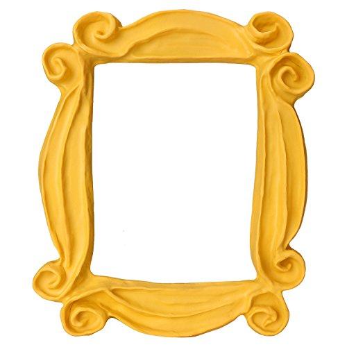 Lisol Pasific Friends Frame Yellow Peephole Marco de Puerta Hecho a Mano como se ve en la Puerta de Monica en Friends TV Show # 1 Replica
