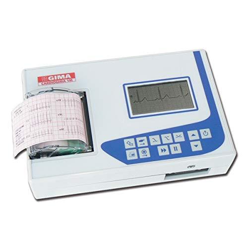 EKG ECG cardiogima 1m–1–3Kanal–mit Monitor 33329