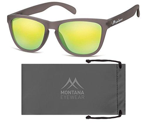 Montana Eyewear Sunoptic MS31C Sonnenbrille in grau, inklusive Stoffbeutel